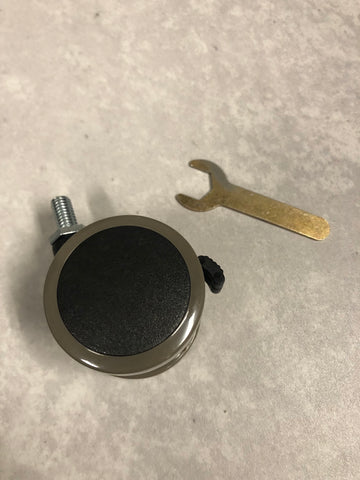 MojoDesk caster wheel and hex (allen) wrench
