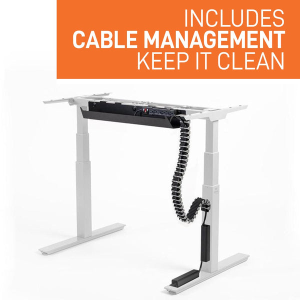 Mojo Gamer Pro includes magnetic cable management to keep cords hidden and clutter free.