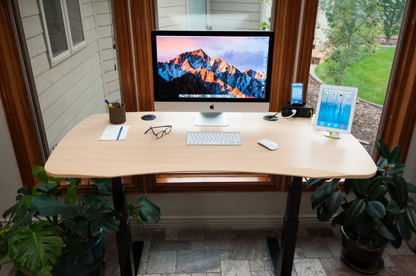 Best Reviewed 2019 Standing Desk - Maple