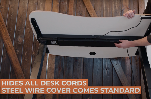 MojoDesk Cable Management Cover
