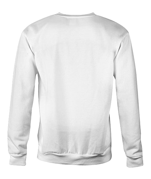 Rainbow Concentirc Lines Sweatshirt Crew Neck Sweatshirt