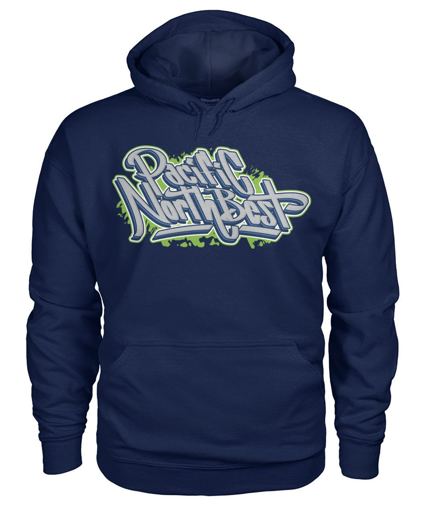Seahawks Graffiti Colorway Hoodie