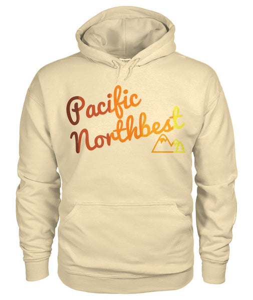 Sunset Colorway on Sand Hoodie