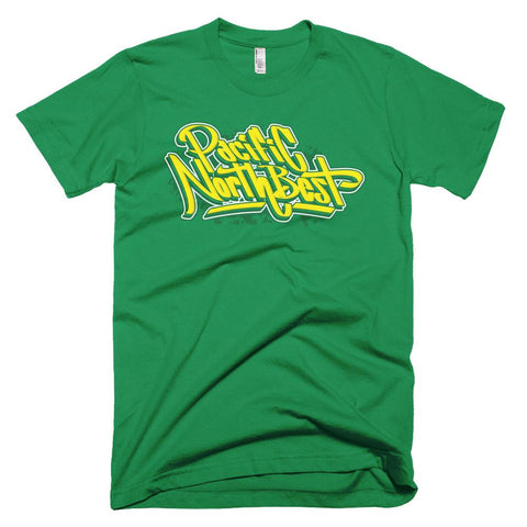 Supersonics Throwback Colorway PNB Graffiti T-Shirt