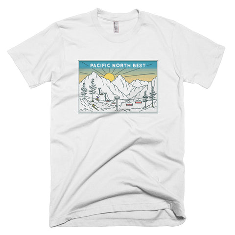 """Snow Day"" design T-Shirt"