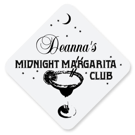 Personalized Hardboard Coasters - Midnight Margarita