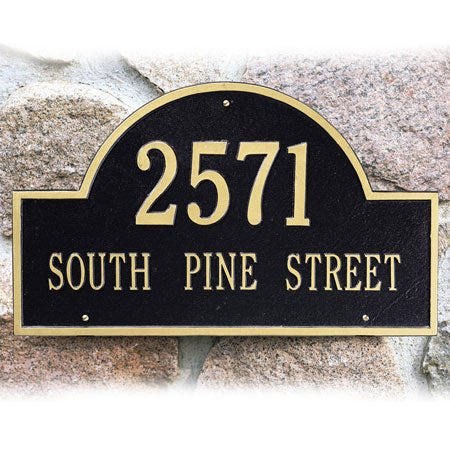 Arch Marker Wall Plaque