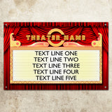 Personalized Theater Marquee Sign