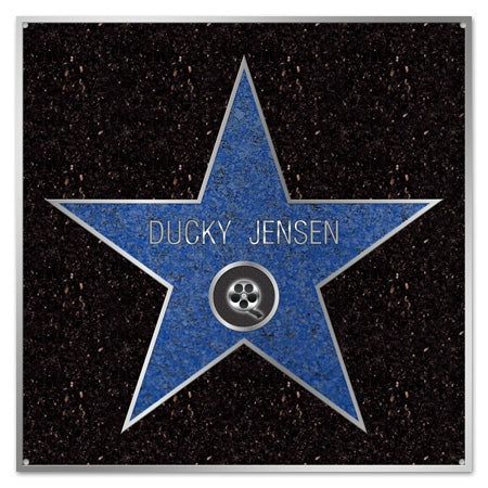 Personalized Metal Celebrity Star Sign