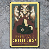 Personalized Vintage Cheese Shop Sign