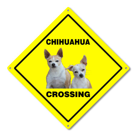 Personalized Pet Crossing Road Sign