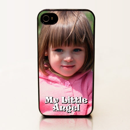 Personalized iPhone 4 Case - Adorable Child Portrait
