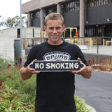 Retro Style No Smoking Steel Sign