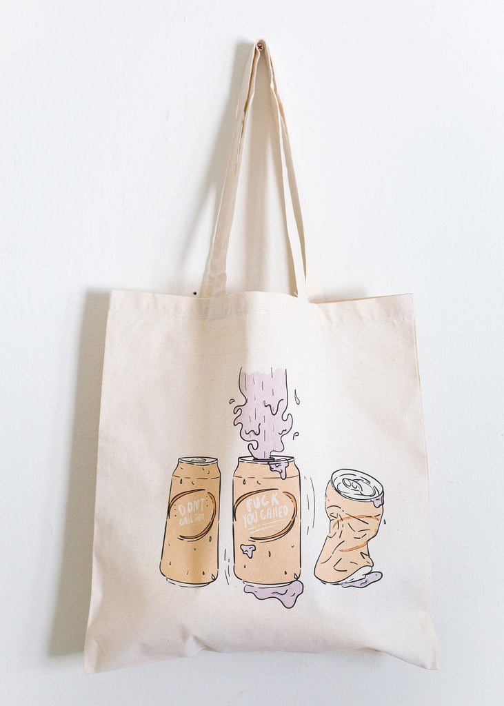 'Don't Call' Tote Bag