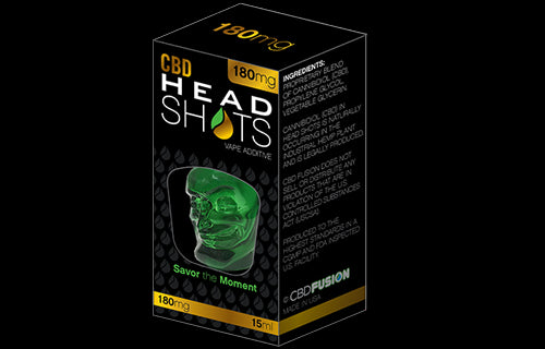 Head Shots CBD 180mg - 15ml
