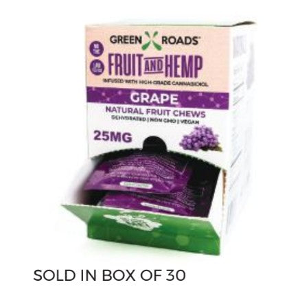 CBD Grape Fruit & Hemp – 25 MG
