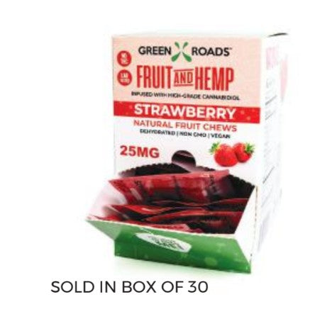 CBD Strawberry Fruit & Hemp – 25 MG