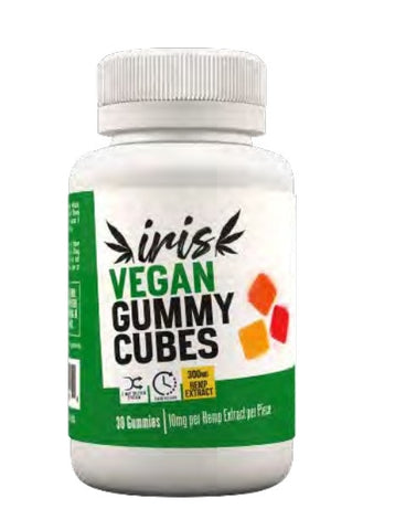 Iris CBD Vegan Gummies 300mg (30 Pcs)