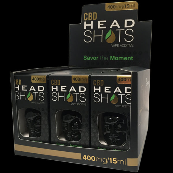 Head Shots CBD 400mg - 15ml (BOX - 12 Units)
