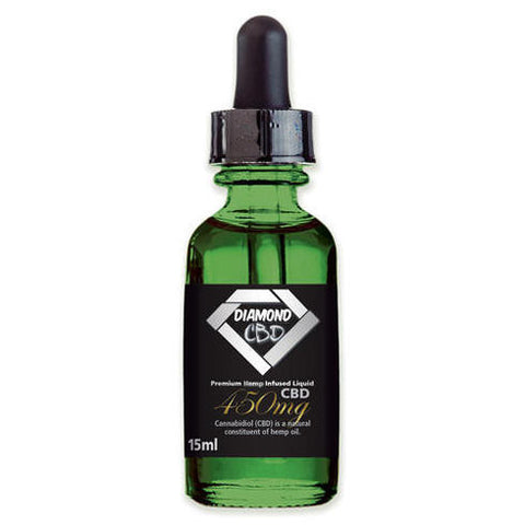 Diamond CBD 450mg Platinum Natural flavor