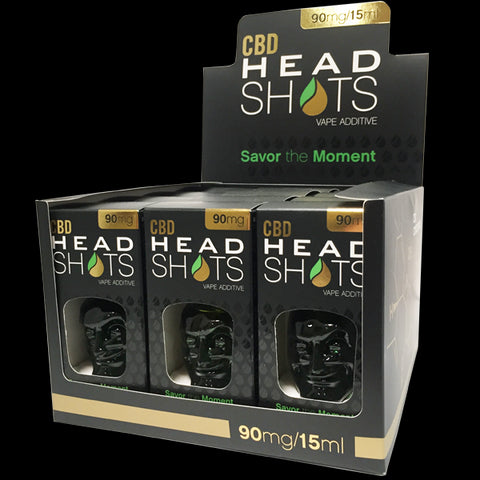 Head Shots CBD 90mg - 15ml (BOX - 12 Units)