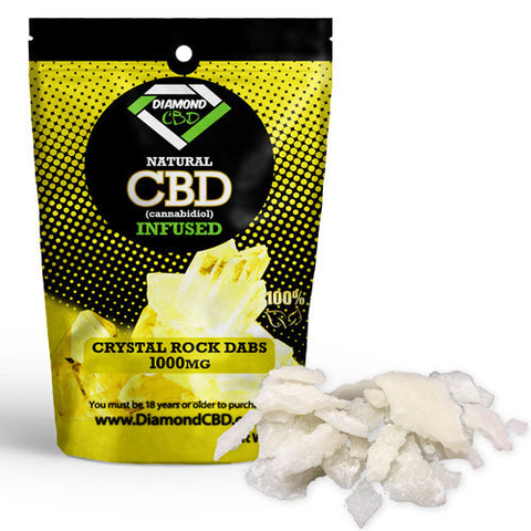 CBD Crystal Rock Dabs 1000mg