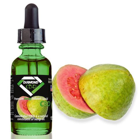 Diamond CBD Guava flavor (50mg-550mg) - 15ml