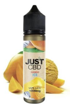 CBD Vape Oil - Mango Ice