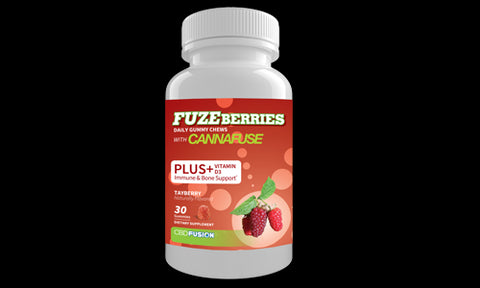 CBD FuzeBerries Tayberry Flavor