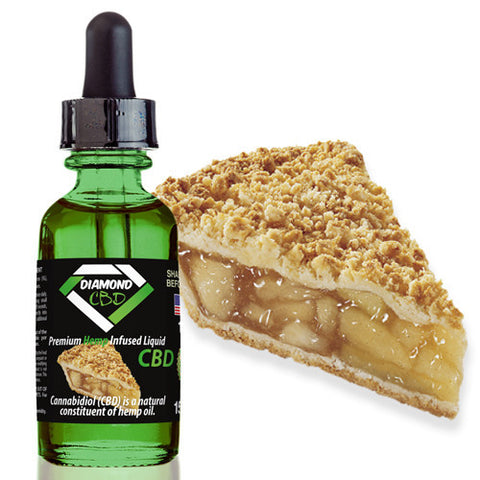 Diamond CBD Apple Pie flavor (50mg-550mg) - 15ml