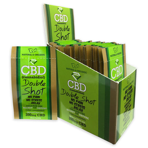 Diamond CBD Double Shot 350mg (1 box - 25ct)(Display Box)