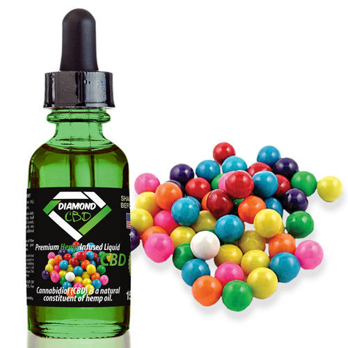 Diamond CBD Bubblegum flavor (25mg-550mg) - 15ml