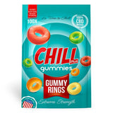 Chill Plus Gummies - CBD Infused Gummy Rings (Box of 12)
