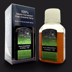 CBD Drip Bulk Concentrate (250ml)(12,500mg) (White Labeling)