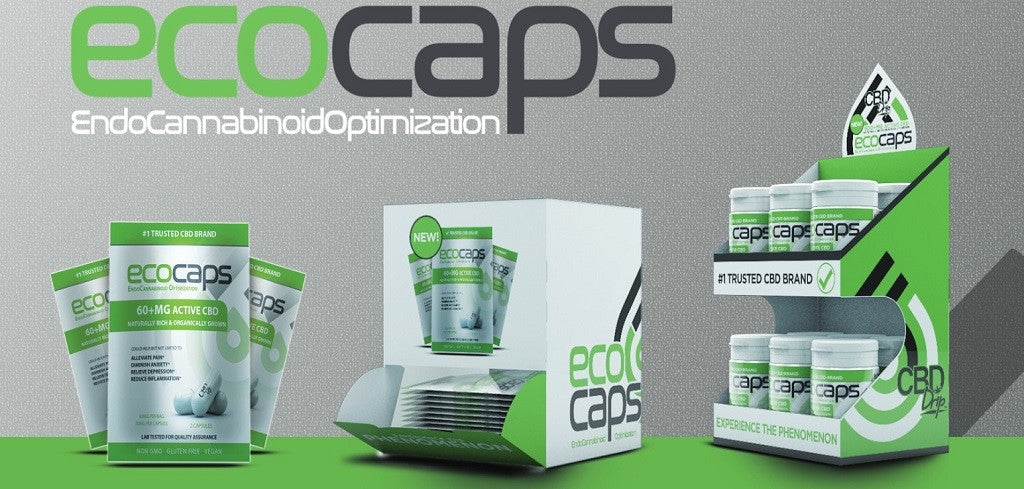 Eco Caps Sachet Display