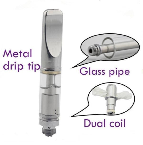 1ml CBD Hemp Oil Atomizer Glass 510 Catridge