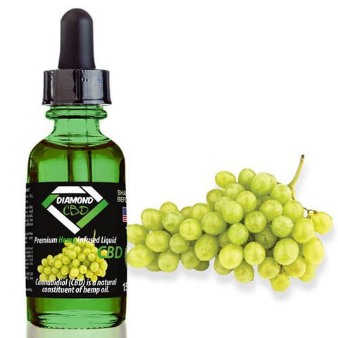 Diamond CBD Grape flavor (50mg-550mg) - 15ml