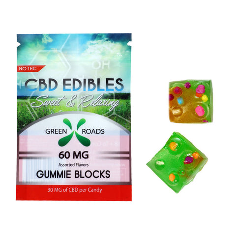 Green Roads CBD Blocks 60mg
