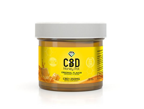 CBD Infused Honey Pot - 250MG