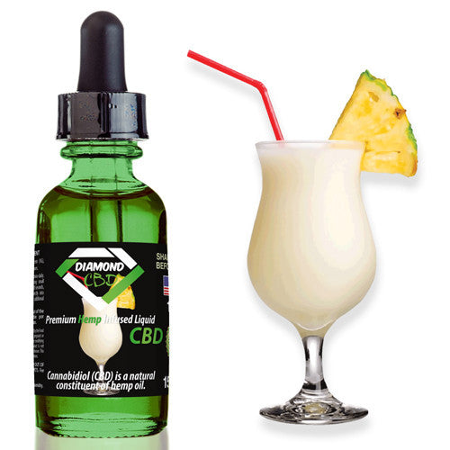 Diamond CBD Pina Colada flavor (50mg-550mg) - 15ml