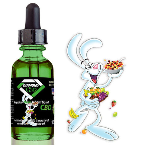 Diamond CBD Silly Rabbit flavor (50mg-550mg) - 15ml