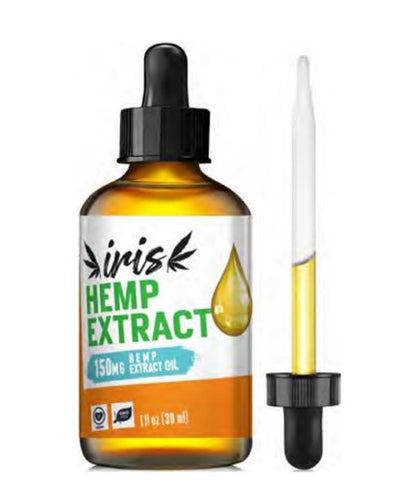 Iris 150mg CBD Tincture in Coconut Oil (30ml)