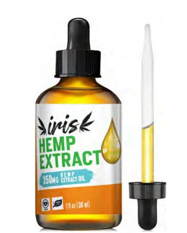 Iris 350mg CBD Tincture in Coconut Oil (30ml)
