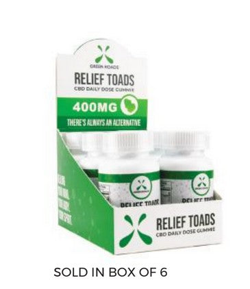 CBD Relief Toads – 400 MG