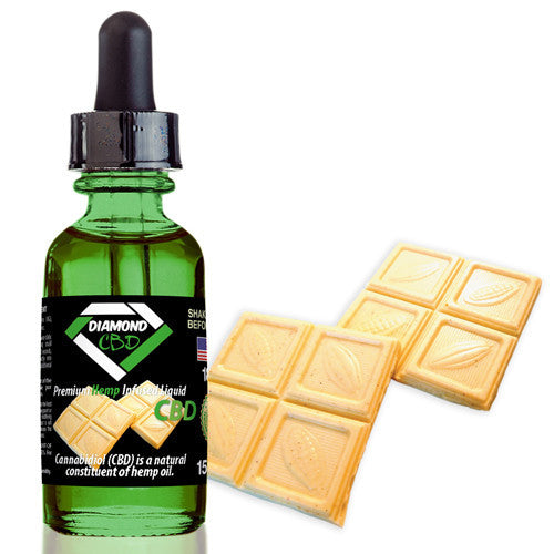Diamond CBD White Chocolate flavor (50mg-550mg) - 15ml