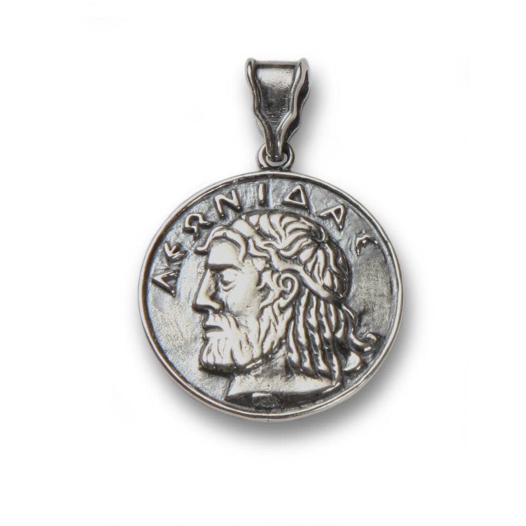 Leonidas pendant in sterling silver
