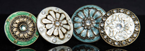 jewel cloisonne cabinetry knobs