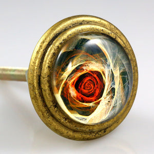 Signature Brass Knob - Rose