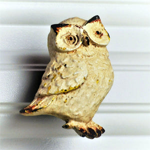 white Owl Knob for harry potter fans