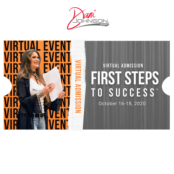 Virtual Admission - First Steps To Success - October 2020